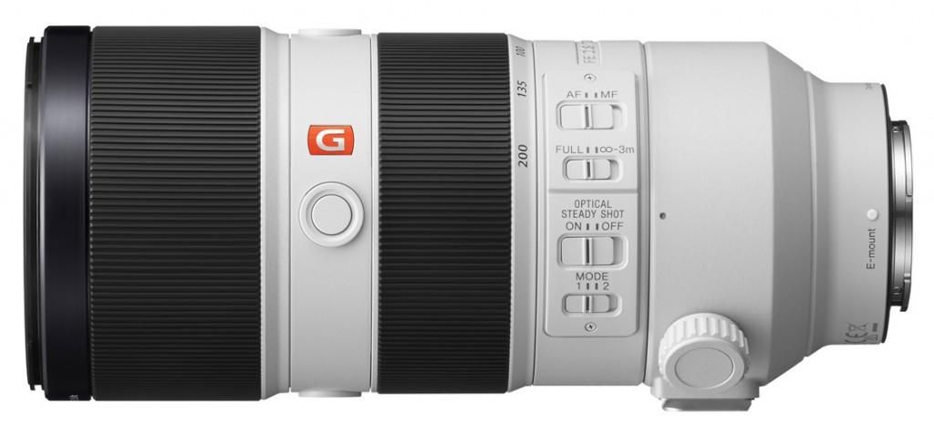 Sony 2-8-70-200mm